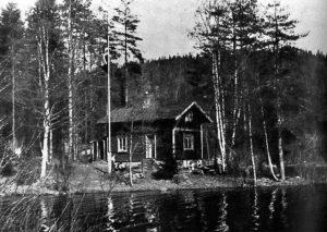Speed-hytta ved Elvåga.